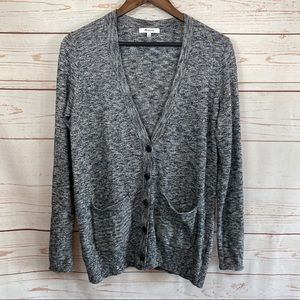 Madewell V Neck Button Up Cardigan.
